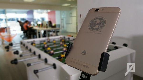 Huawei Ascend G7 Gold - Escudo Club America
