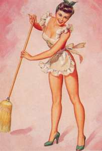 pin-up-cleaning lady