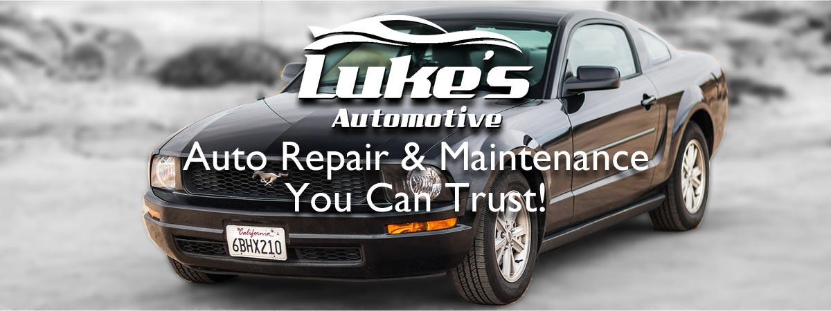 Auto Repair Car Mechanic Luke\u0027s Automotive Redmond Family owned WA - car description