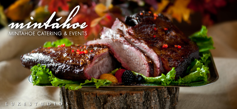 Commercial Food Photography for Mintahoe Catering\u0027s Marketing