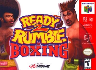 Ready 2 Rumble Boxing Nintendo 64 Game
