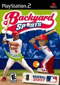 Backyard Baseball 2007 Sony Playstation 2 Game