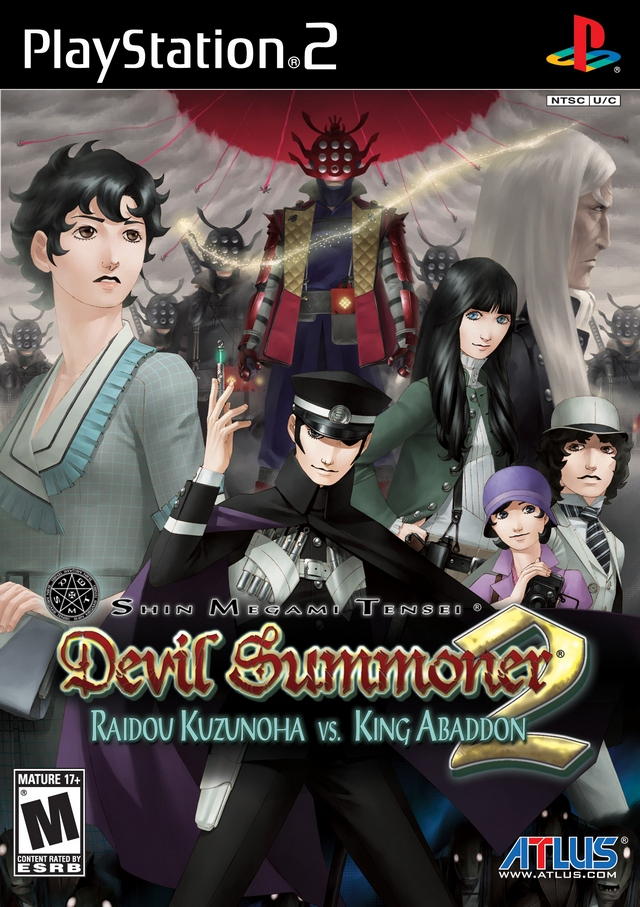 Danganronpa The Animation Wallpaper Shin Megami Tensei Devil Summoner 2 Sony Playstation 2 Game