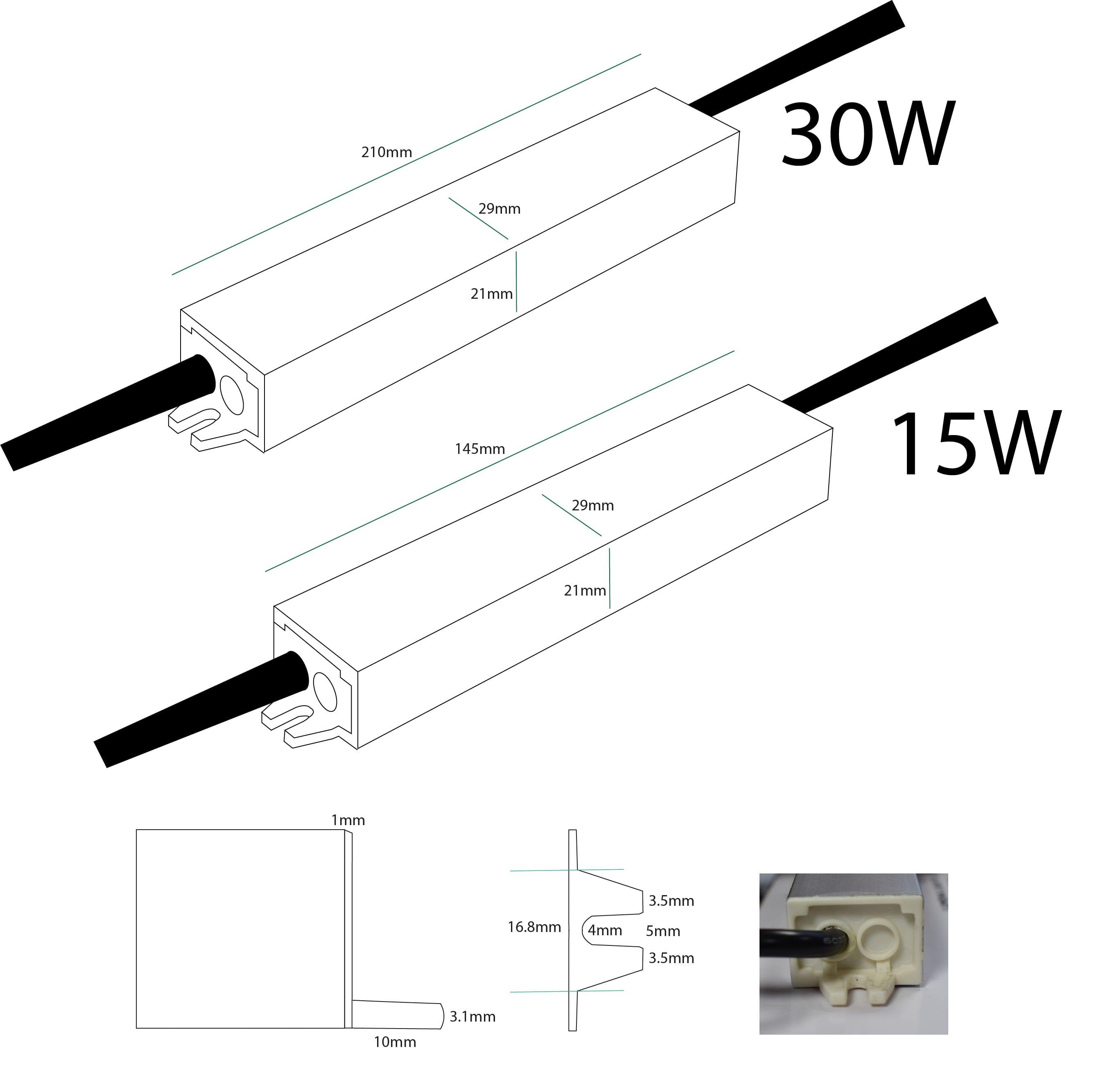 wiring a mains plug adaptor