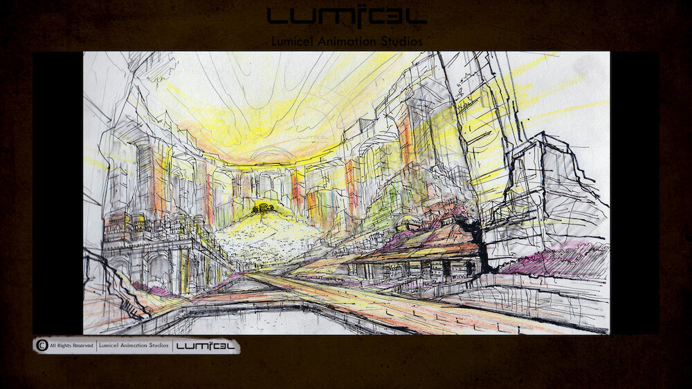 Lumicel Animation Studios Pre-Production, Storyboard  Animatics