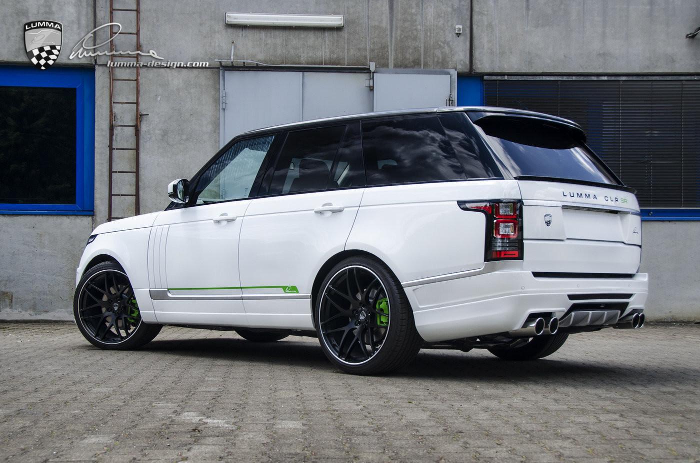 Lumma News Clr Sr Conversion Based On Range Rover Vogue