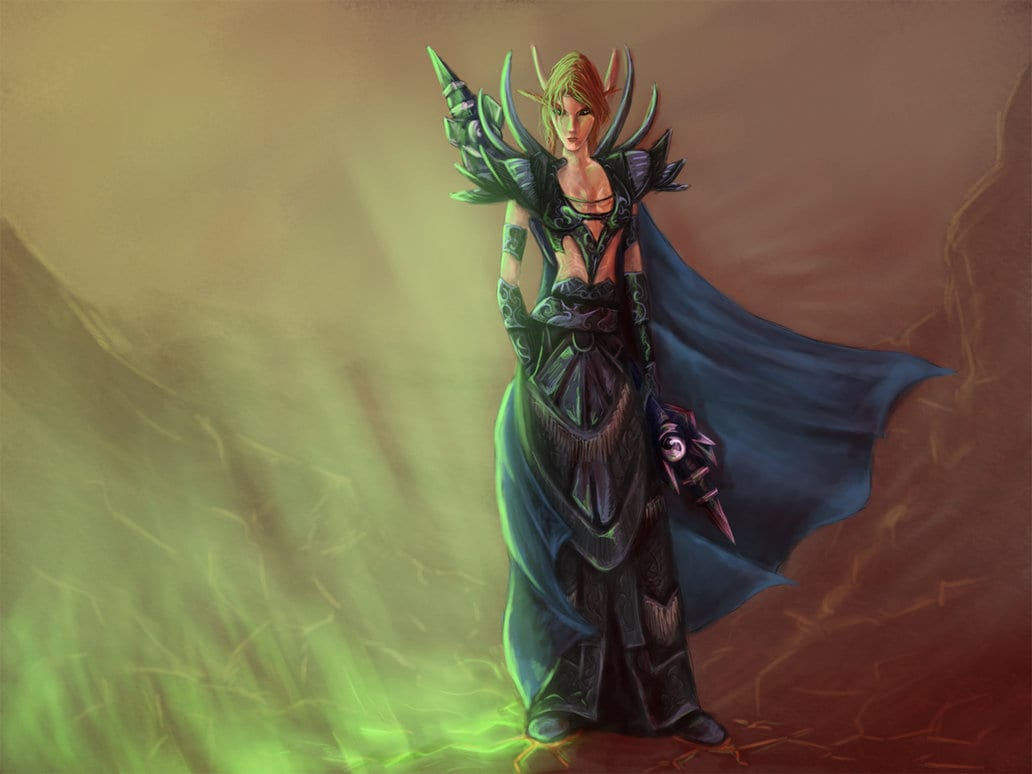 Blood_Elf_Mage_by_greyf0xuk