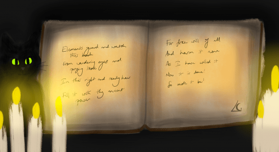 Spell Book Header