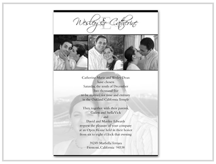 Wedding Invitations - Design and Printing for Weddings