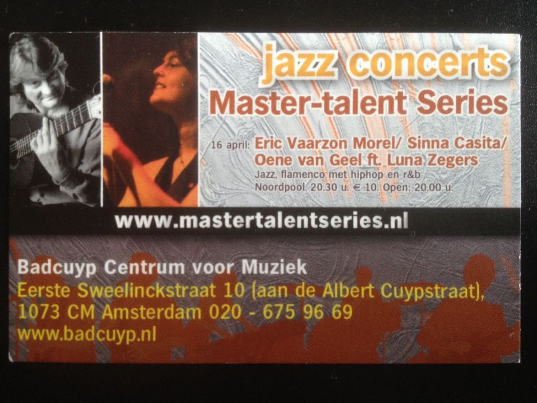 Master-talentreeks 1