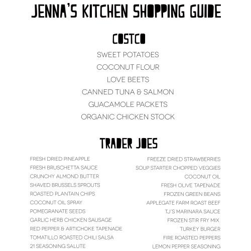 Medium Crop Of Costco Shopping List