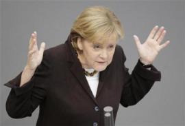 "La nostra ""grande mamma"" Angela Merkel"