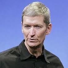 Tim Cook. CEO della Apple