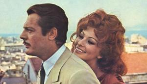 Marcello Mastroianni e Sofia Loren in Matrimonio all'italiana
