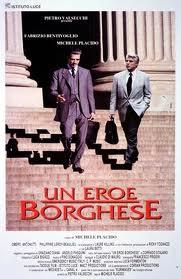 Il manifesto del film tratto dalla storia di Giorgio Ambrosoli