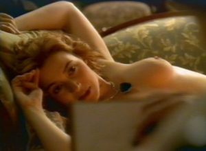 "Kate Winslet nude  in ""Titanic"""
