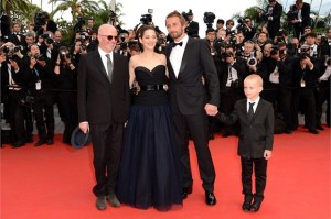 "Jacques Audiard registata - Marion Cotillard Matthias Schoenaerts Armand Verdure attori in ""De Rouille et D'Os"""