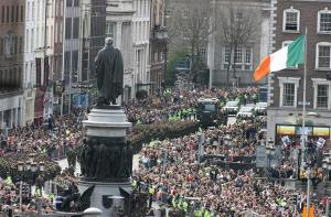 O'Connell street parade