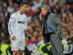 Mourinho e Ronaldo