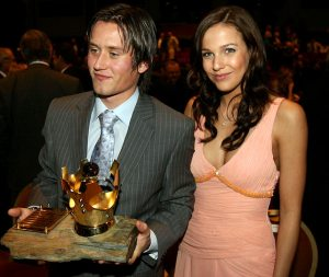 tomas rosicky and his girlfriend radka kocurova