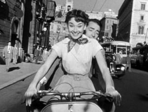 Audrey Hepburn Gregory Peck Vacanze romane