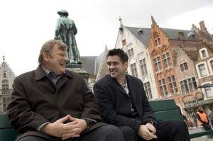 Brendan Gleeson e Colin Farrell in In Bruges