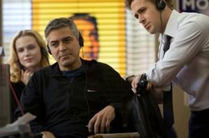 Ryan Gosling e George Clooney in Le idi di marzo