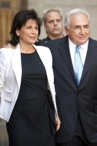 Strauss-Kahn e Anne Sinclair, quando era ancora dalla sua parte