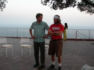 Franzen  DFWallace a Capri