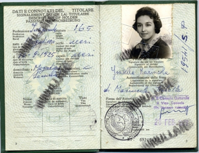 Isabella passaporto