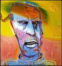 Mattia Moreni - Autoritratto N. 2 - 1986