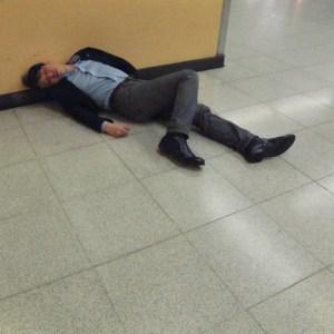 dormire per terra a Tokyo