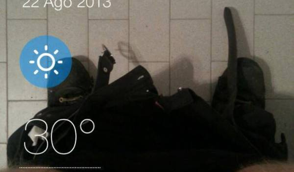 What's the weather like in da toelet