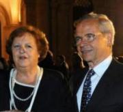 Anna Maria Cancellieri e il marito Sebastiano Peluso