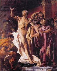 La morte di Seneca, di Noel Sylvestre