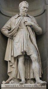 Michelangelo Buonarroti, nato il 6 marzo 1475 e morto il 18 febbraio 1564 e forse stato il massimo esponente del Rinascimento e il più grande artista di tutti i tempi.