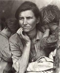 Lange Dorothea, Madre emigrante 1936