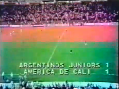 1-1 si va ai rigori. L'Argentinos Juniors sarebbe poi stato sconfitto dalla Juventus nella finale della Coppa Intercontinentale 1985