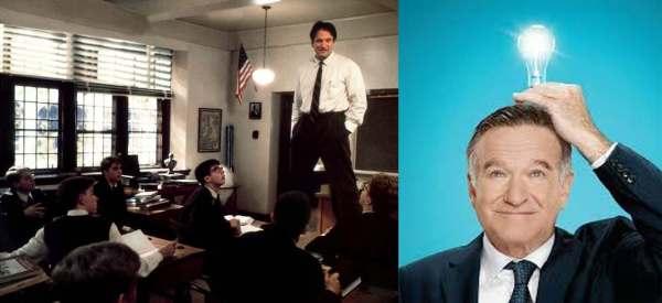 Robin Williams ci era piaciuto di più in L'attimo fuggente