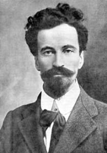 Cesare Battisti. Lasciò l'Austria allo scoppio della guerra per propagandare in Italia la liberazione di Trento e Trieste.