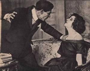 Due divi del cinema muto. Amleto Novelli e Pina Menichelli.