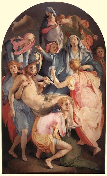 Pontormo: Deposizione Chiesa di Santa Felicita Firenze