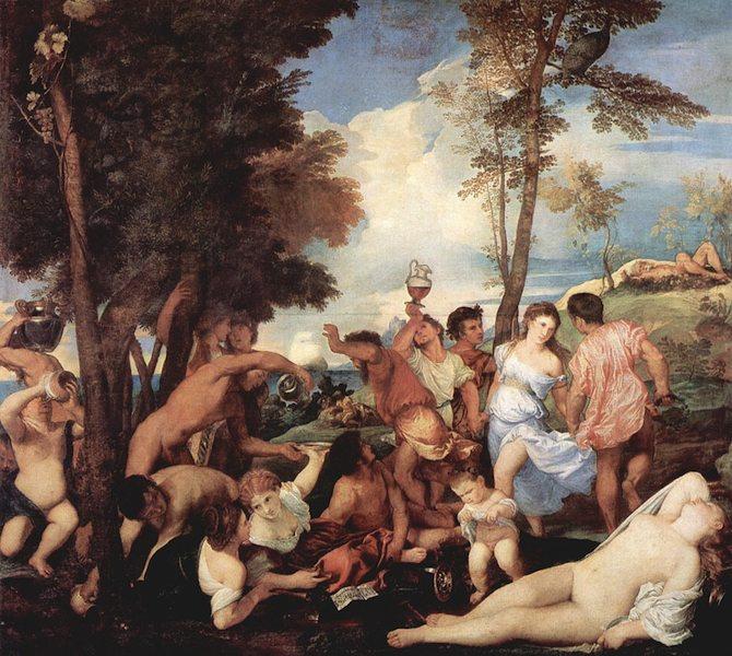 Baccanale degli Andrii, Museo del Prado, Madrid