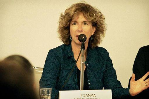 Fiamma Nirenstein, giornalista, scrittrice e politica italiana, già direttore dell'Istituto Italiano di Cultura a Tel Aviv