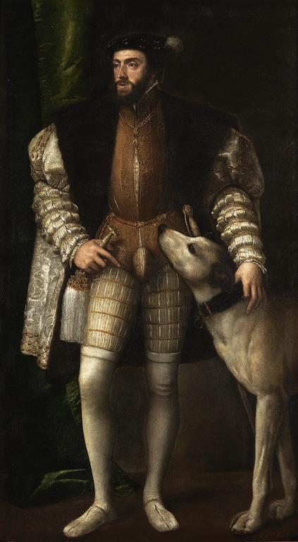 Carlo V col cane, Museo del Prado, Madrid