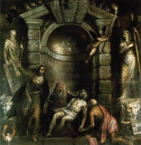 Pietà, Gallerie dell'accademia, Venezia.