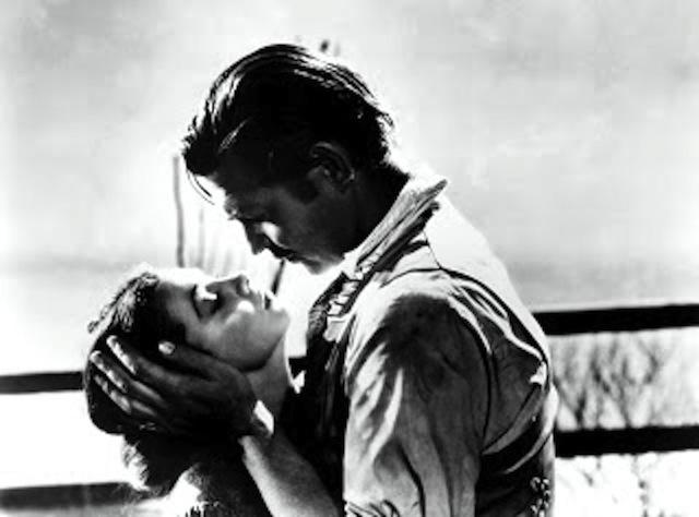 Francamente, me ne infischio! Rhett Butler e Scarlett O'Hara. Via col vento!
