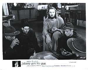 Gesù in guerra fa l'angolista (quello che sta in un angolo a guardare gli altri che giocano a carte)