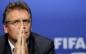 Jerome Valcke, segretario generale della FIFA, ancora al suo posto.