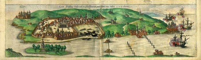 Goa (colonia portoghese in India) nel 1509